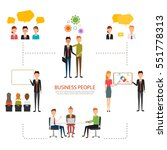 people character of business... | Shutterstock .eps vector #551778313