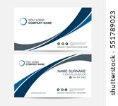 business card vector background | Shutterstock .eps vector #551789023