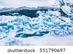 ice at the north pole and near... | Shutterstock . vector #551790697