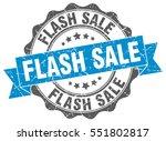 flash sale. stamp. sticker.... | Shutterstock .eps vector #551802817