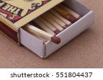 Match In Box  Carton Backgroun...
