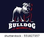 bulldog logo   vector...