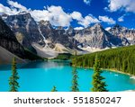 Small photo of Moraine lake in Banff National Park, Alberta, Canada