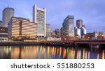 Panoramic View Of Boston In...