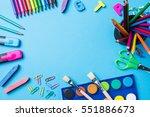 overhead shot of school...   Shutterstock . vector #551886673