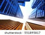 san francisco skyscrapers low... | Shutterstock . vector #551895817