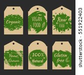 set of vector price tag label...