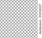 seamless monochrome square... | Shutterstock .eps vector #551928157