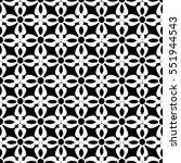 vector pattern design  floral... | Shutterstock .eps vector #551944543