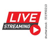 Live Streaming Logo   Red...