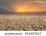 Soil Drought Cracked Landscape...