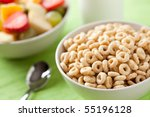 Cereals Rings And Fruit