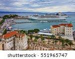 Croatia  Split Panoramic City...