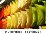 comfortable colorful fabric... | Shutterstock . vector #551988397