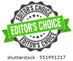 editor's choice. stamp. sticker.... | Shutterstock .eps vector #551991217