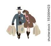 consumers | Shutterstock .eps vector #552004423