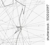 monochrome minimalistic vector... | Shutterstock .eps vector #552010597