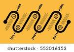 horizontal infographic timeline.... | Shutterstock .eps vector #552016153