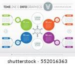 vector infographic of...   Shutterstock .eps vector #552016363