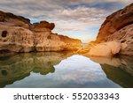 thailand grand canyon  sam phan ... | Shutterstock . vector #552033343