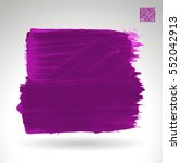 brush stroke and texture.... | Shutterstock .eps vector #552042913