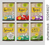 set of colorful labels  sketch... | Shutterstock .eps vector #552043027