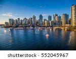 Stock photo beautiful view of vancouver british columbia canada 552045967
