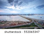 nanchang  jiangxi river views | Shutterstock . vector #552065347