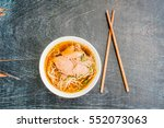 a bowl of traditional... | Shutterstock . vector #552073063