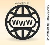 www web vector illustration | Shutterstock .eps vector #552086497
