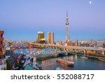 Tokyo Skyline With The Sumida...