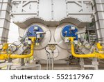 industrial of a power plant... | Shutterstock . vector #552117967