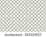 seamless metal wire mesh. vector | Shutterstock .eps vector #552124927
