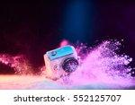 concept  gear  gadget  action... | Shutterstock . vector #552125707