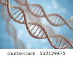 genetics and microbiology... | Shutterstock . vector #552129673