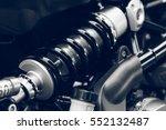 shock absorber motorcycle | Shutterstock . vector #552132487
