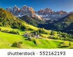 famous best alpine place of the ... | Shutterstock . vector #552162193