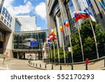 brussels  belgium   may 20 ... | Shutterstock . vector #552170293