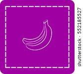 icon of banana   Shutterstock .eps vector #552185527