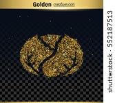 gold glitter vector icon   Shutterstock .eps vector #552187513