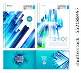 business abstract page... | Shutterstock .eps vector #552188497
