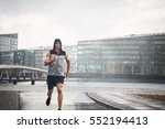 young athletic man in...   Shutterstock . vector #552194413