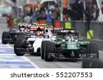 sepang  malaysia  30 march 2014 ... | Shutterstock . vector #552207553