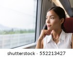 asian woman traveler...