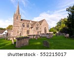 old medieval english church and ...