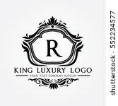 king luxury logo | Shutterstock .eps vector #552234577