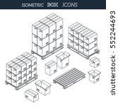 vector illustration. set of... | Shutterstock .eps vector #552244693