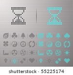 perforated environmental and... | Shutterstock .eps vector #55225174
