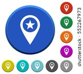 poi gps map location round... | Shutterstock .eps vector #552267973
