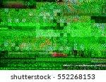 static tv noise  bad tv digital ... | Shutterstock . vector #552268153
